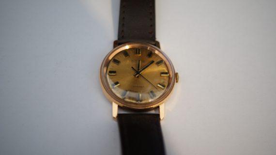 ZŁOTY męski zegarek Bostok ! p.583 !! 17 kamieni