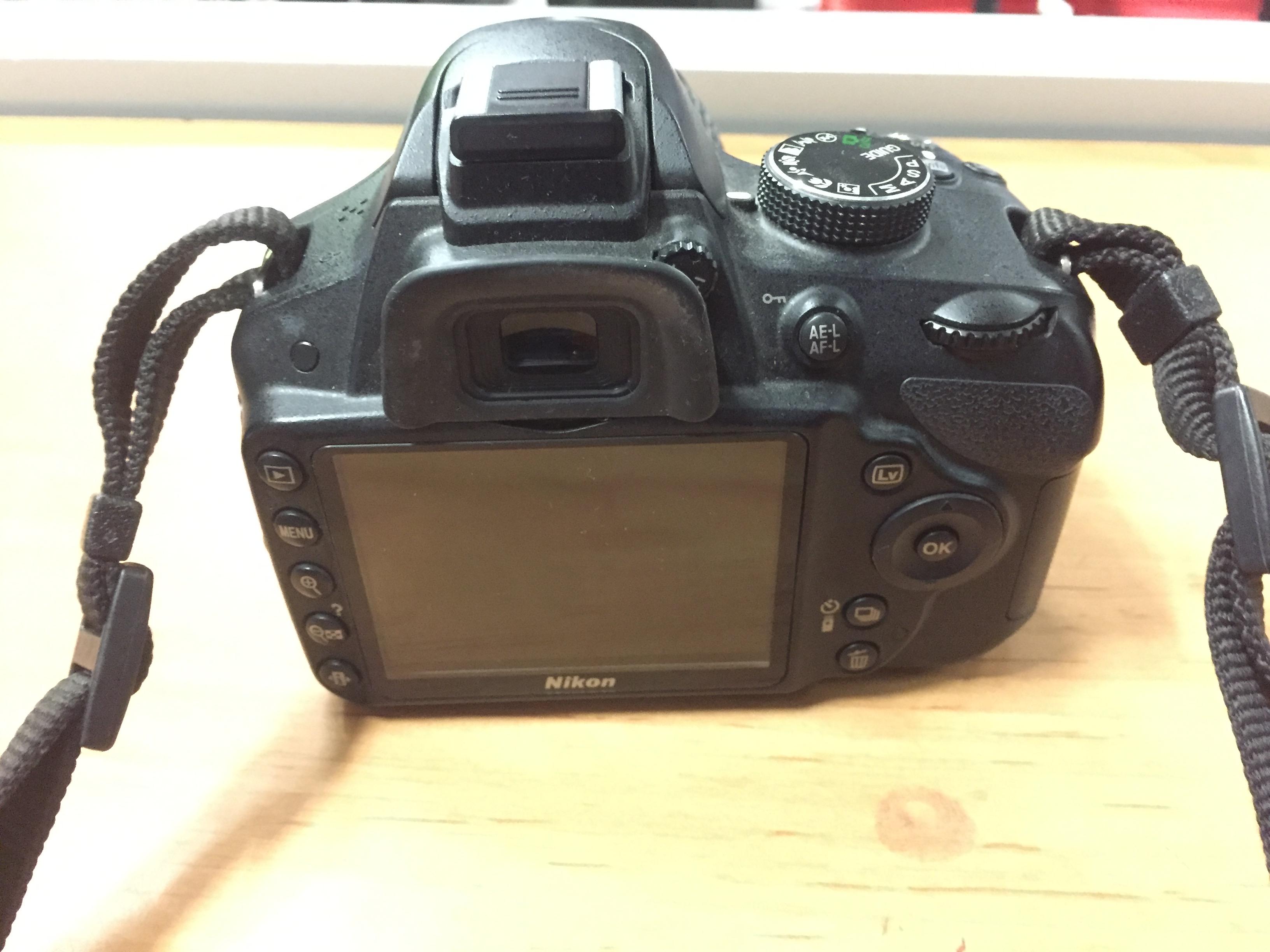 Najnowsze Lustrzanka NIKON D3200 +obiektyw Nikon Nikkor DX VR AF-S 18-55 ST69